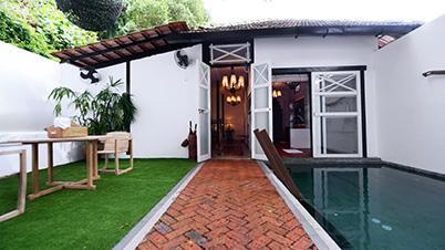 Luxe Sarang Villa Samadhi Singapore Room
